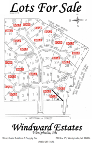 WindWard Estates Lot Map Updated 5-11-16
